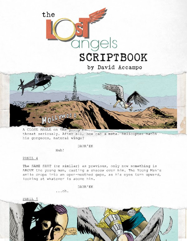 The Lost Angels Scriptbook