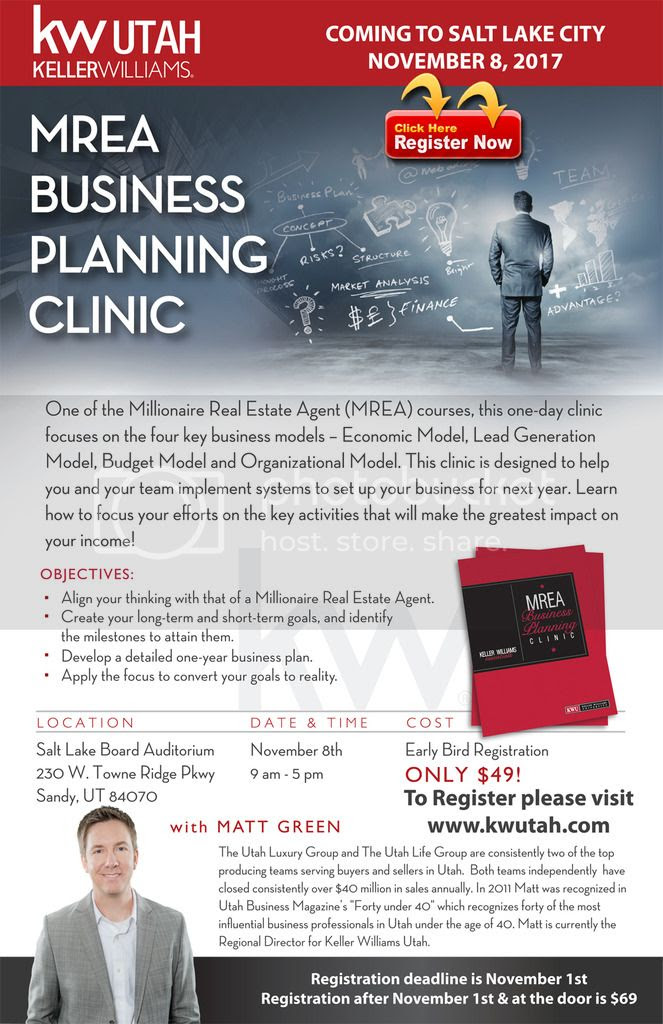 Business Planning Clinic Coming November 8th!