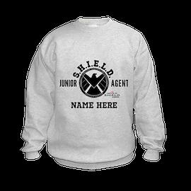 Junior SHIELD Agent Kid's Sweatshirt