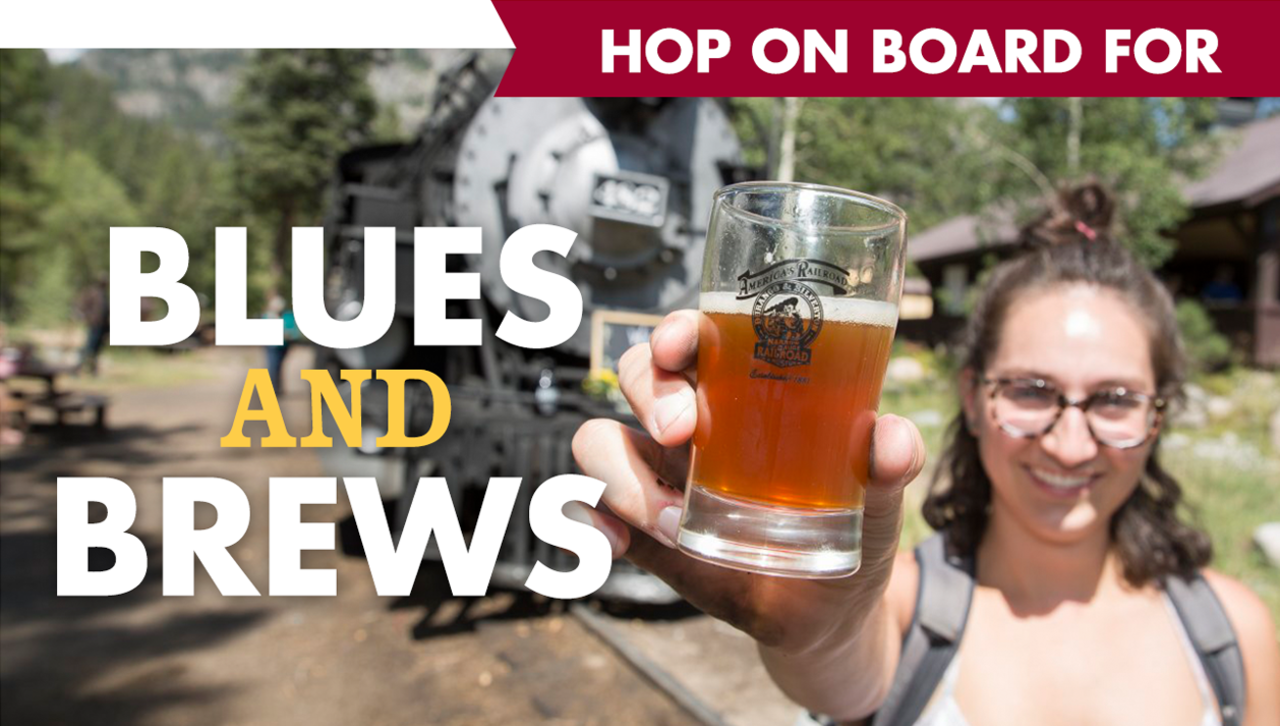 Hop on board for blues and brews