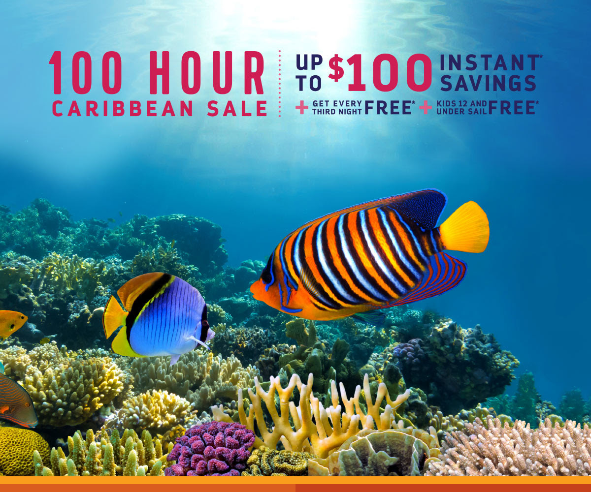 100 HOUR CARIBBEAN SALE