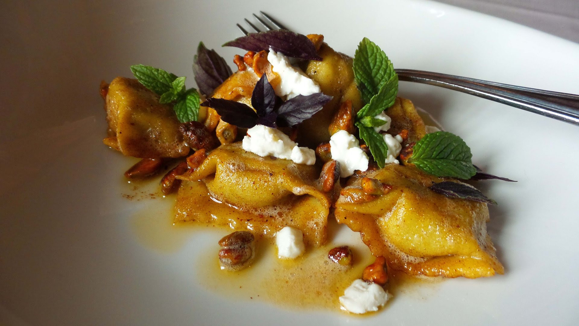House Made Kabocha Squash Agnolotti