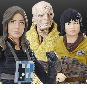 "STAR WARS: THE BLACK SERIES 6"" FIGURES"