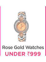 Rose Gold Watches under Rs.999