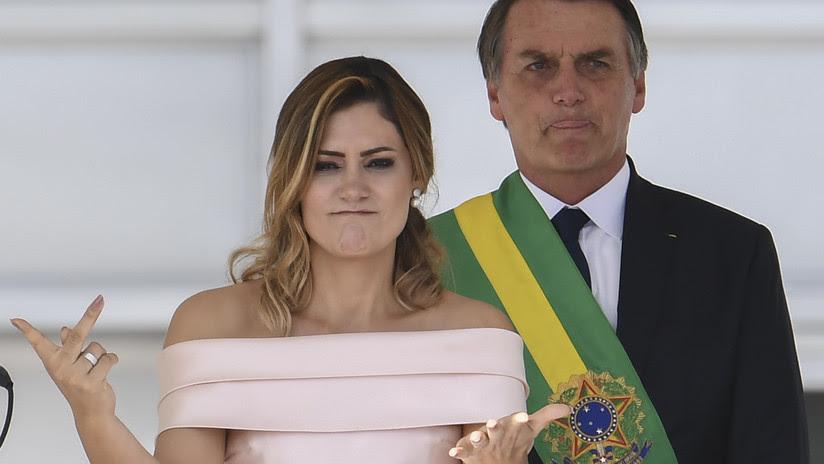 VIDEO: La nueva primera dama de Brasil rompe los protocolos y se dirige al pueblo en lengua de señas