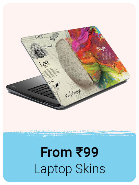 Laptop Skins from Rs.99
