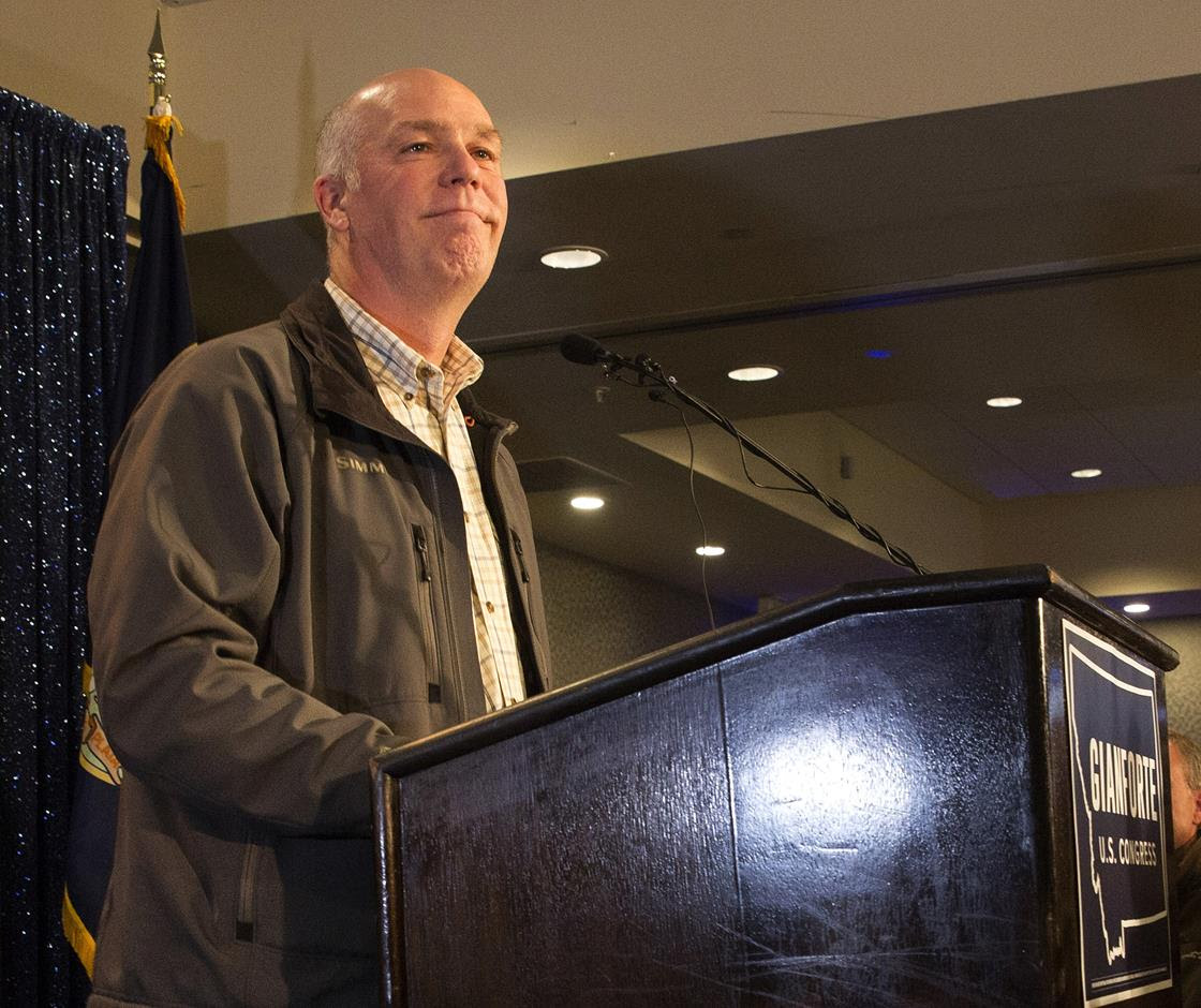 Gianforte after his win