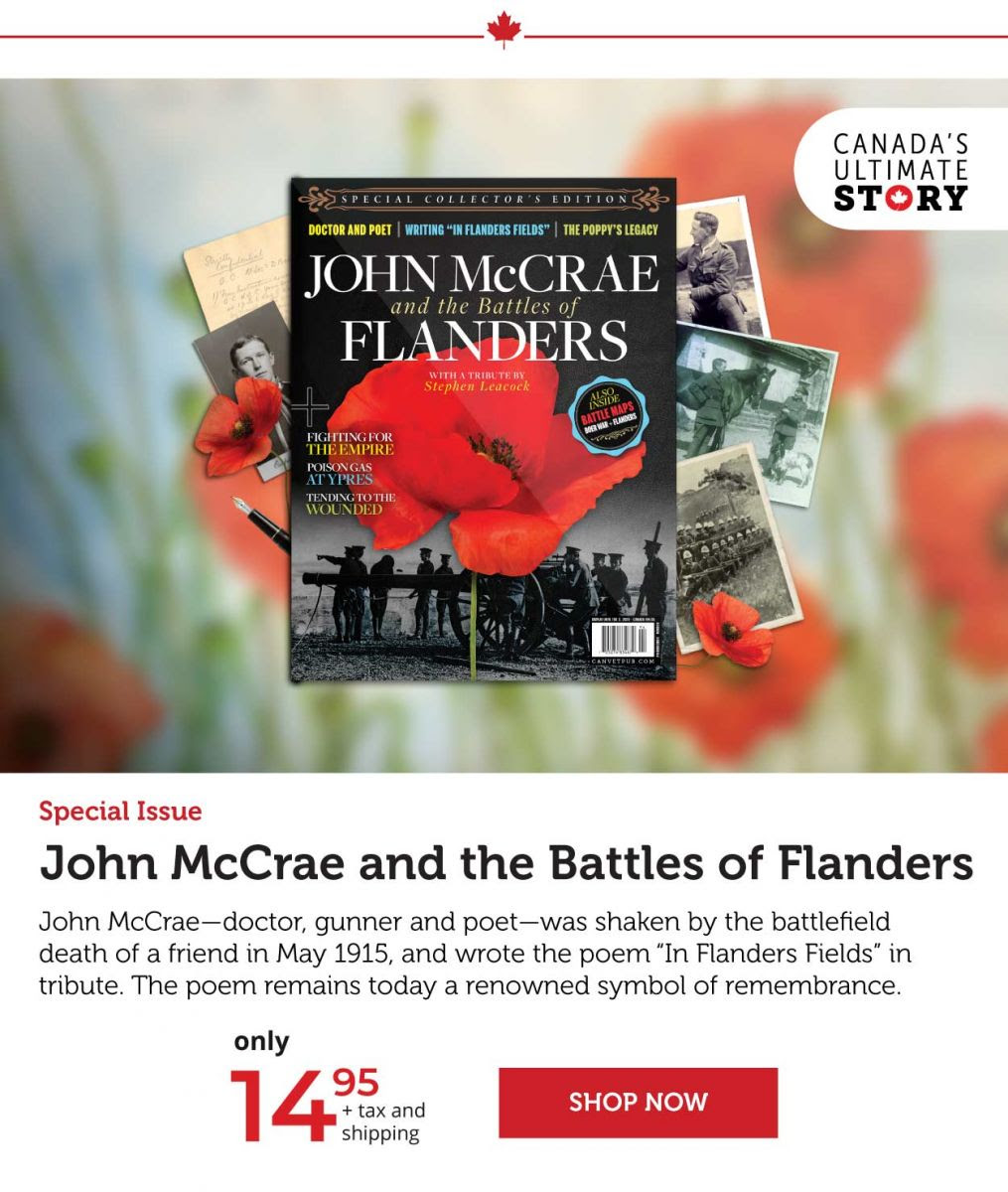 John McCraw and the Battles of Flanders