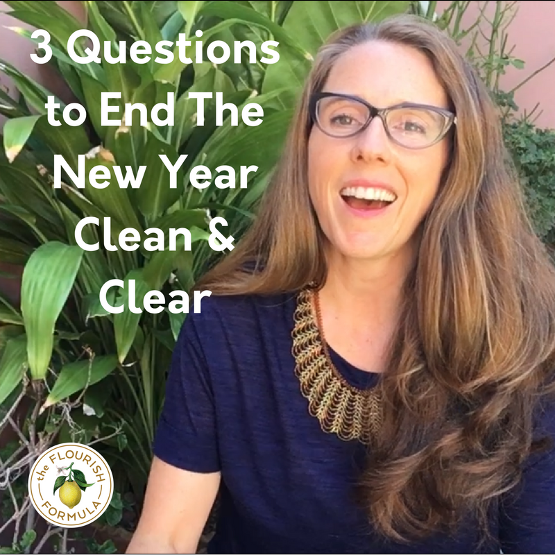 3 Questions to End The Year Clean & Clear