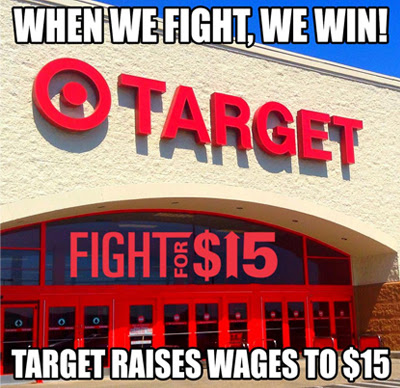 Target is raising wages!