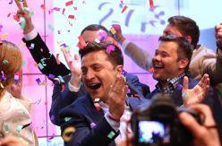 Tuvo que venir un cómico para romper la división geopolítica de Ucrania