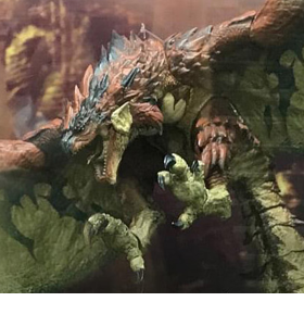 Monster Hunter: World Rathalos 1/18 Scale Figure