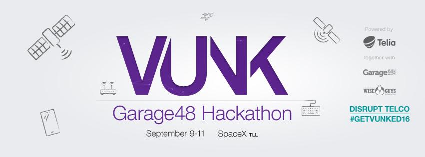 VUNK Garage48 Hackathon 2016