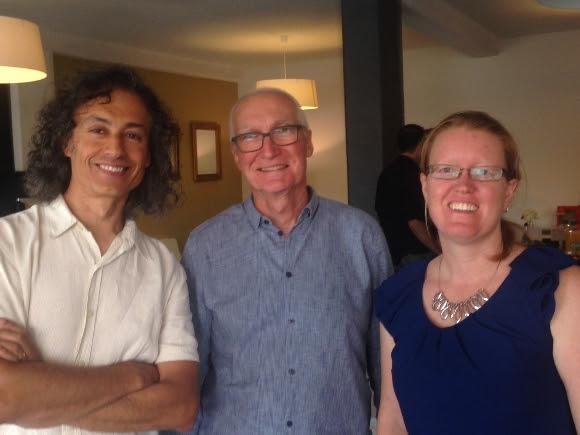 BIZ BOOST 2014 Peter Van Schellebeck, Ian Kinny, Karen Plumbe