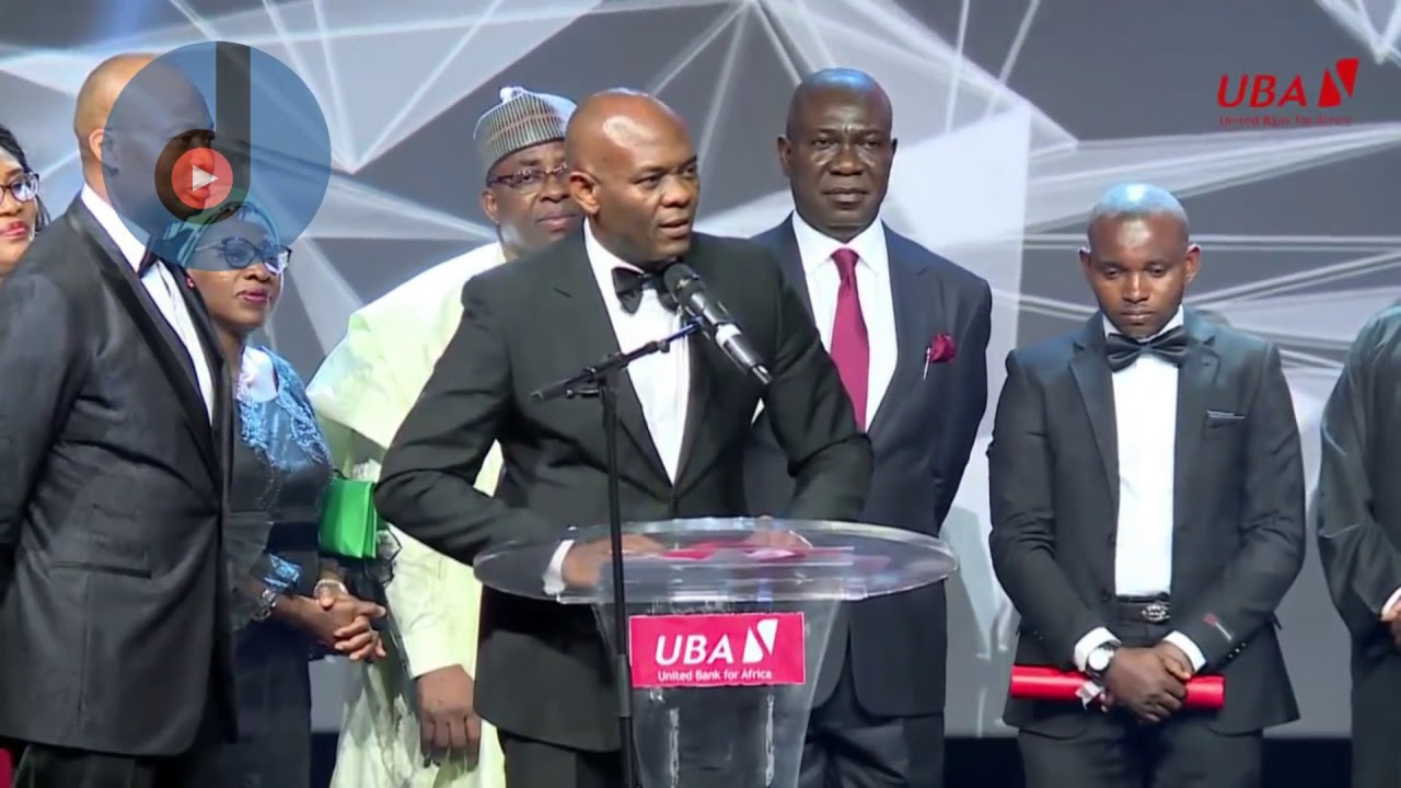 UBA honours security officer Mohammed Ibrahim Ogbanago.