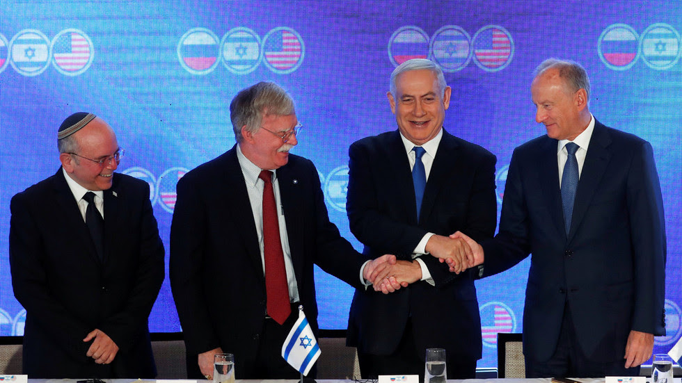 Aligned on Syria, divided on Iran: Russia, US & Israel meet for trilateral talks on Middle East