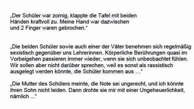 """Auszüge aus dem Papier (Bild: """"Krone"""", krone.at-Grafik)"""