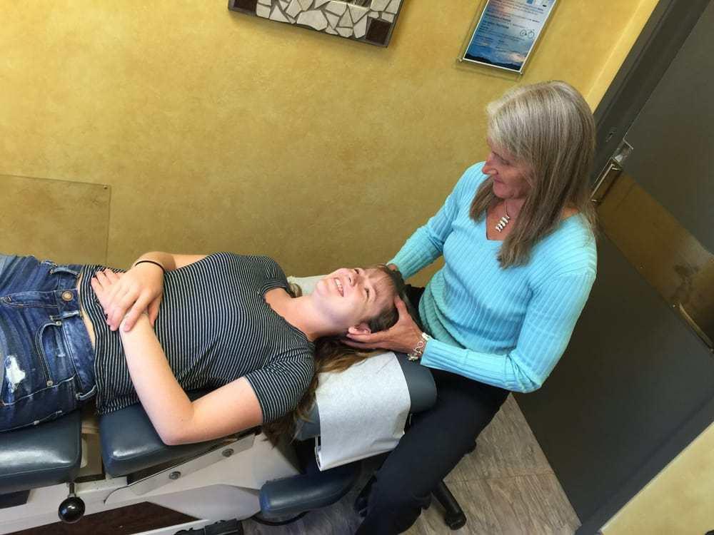 cranial adjusting