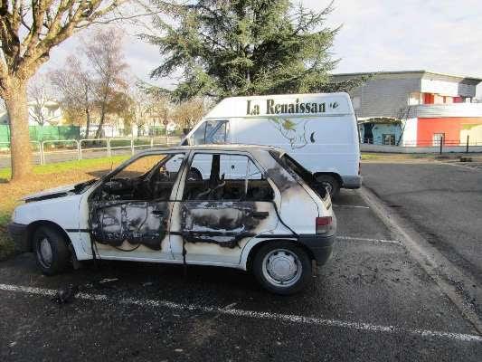 Cognac : douze voitures incendiées au petit matin