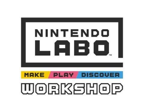 Nintendo Labo workshops to kick off in September