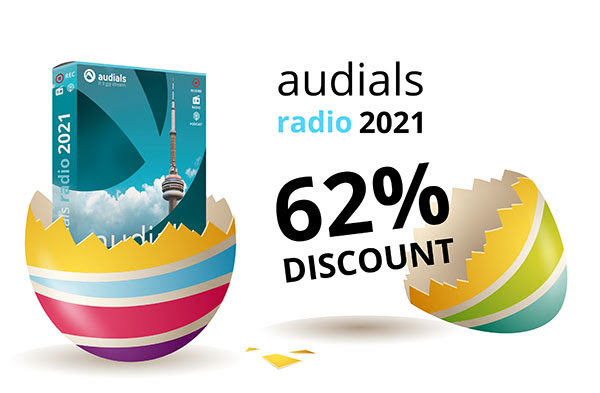 Audials Radio 2021 Easter Deal
