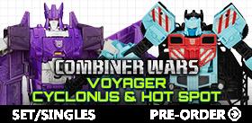 COMBINER WARS SERIES 03 VOYAGER