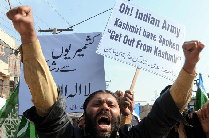 Pakistan protest in Karachi