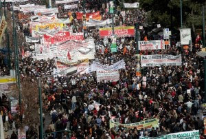 Greece Crippled By General Strike