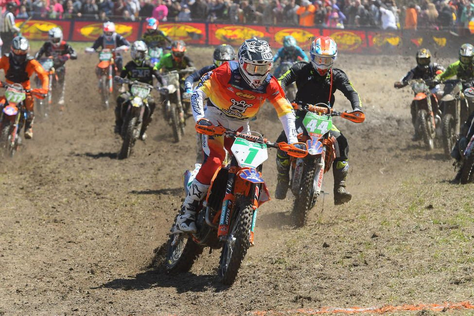 Ben Kelley earned his third consecutive XC2 250 Pro class win.