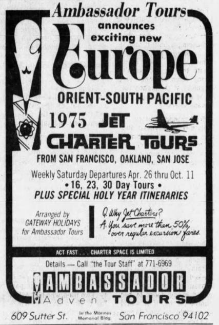 Tour of Europe Ad