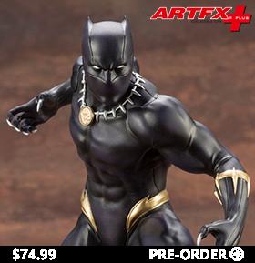 Marvel Universe ArtFX+ Black Panther Statue