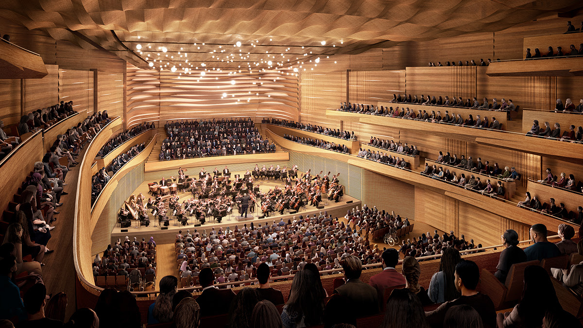The Reimagined David Geffen Hall