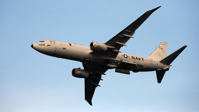 VIDEO: Un caza Su-27 ruso interceptó un avión de reconocimiento de EE.UU. sobre el mar Báltico
