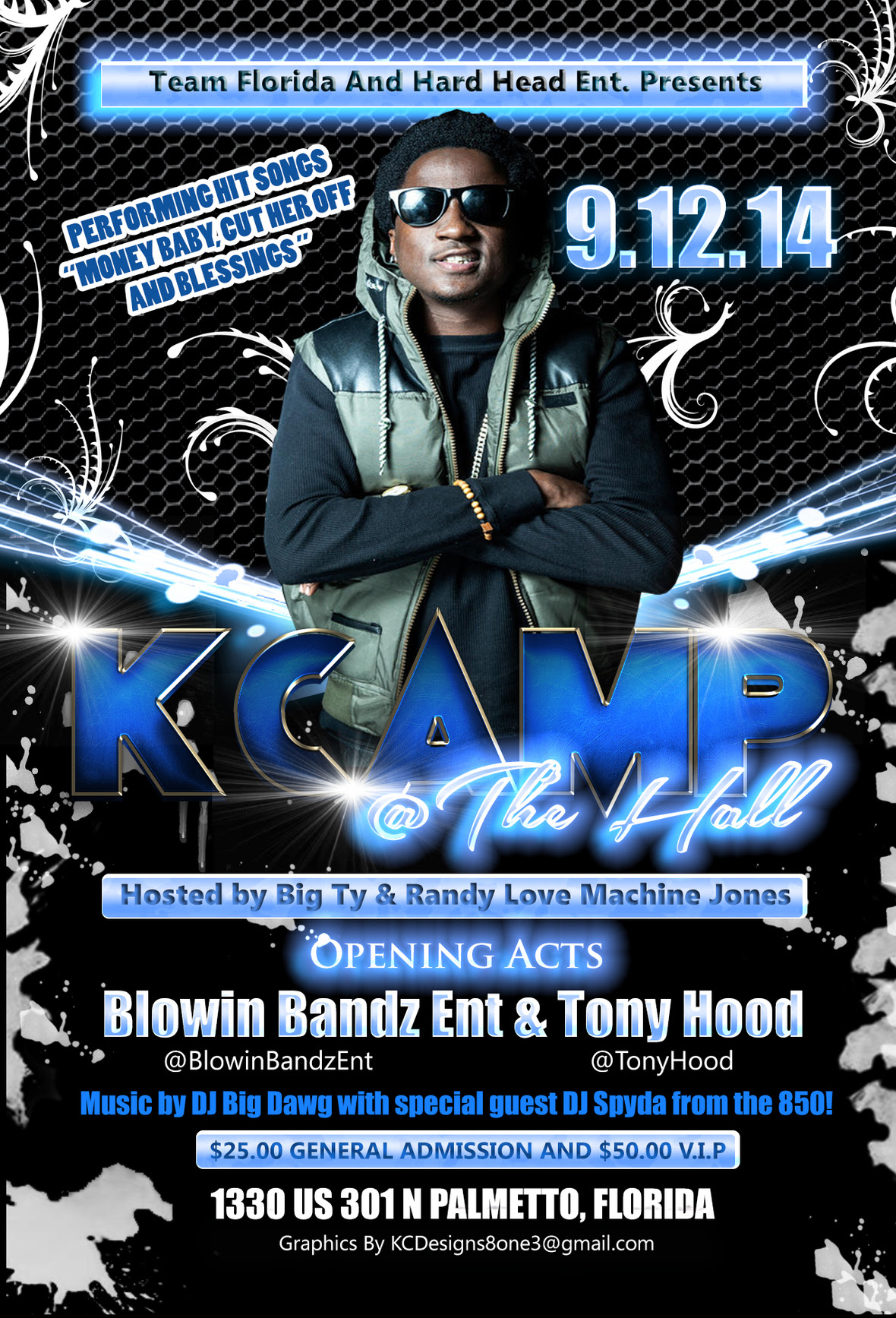 K Camp Concert Sept 12 2014 The Hall Palmetto FL