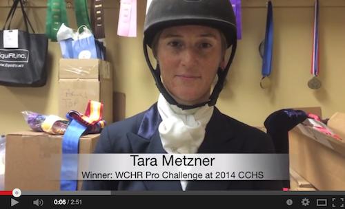 Watch an interview with Tara Metzner!