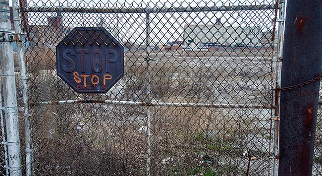 Photo of abandoned property