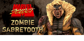 MARVEL SELECT ZOMBIE SABRETOOTH