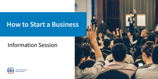 How to Start a Business Information Session