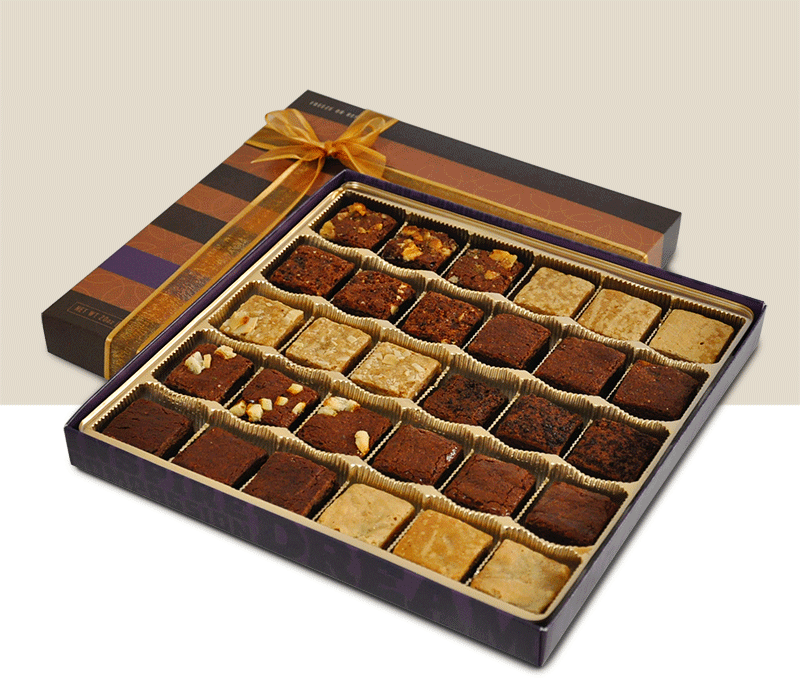 30 Piece Truffle Brownie Collections
