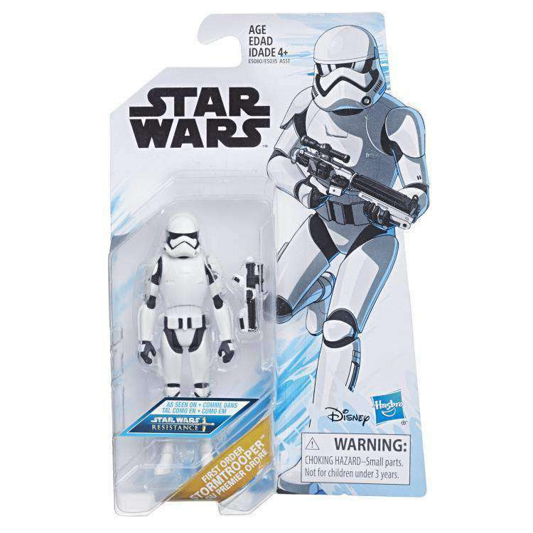 Image of Star Wars Resistance Wave 1 - First Order Stormtrooper figure - FEBRUARY 2019