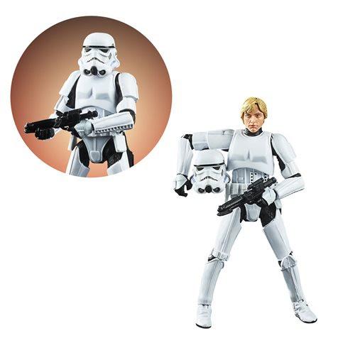 Image of Star Wars The Vintage Collection Luke Skywalker Stormtrooper Disguise 3 3/4-Inch Action Figure- OCTOBER 2020