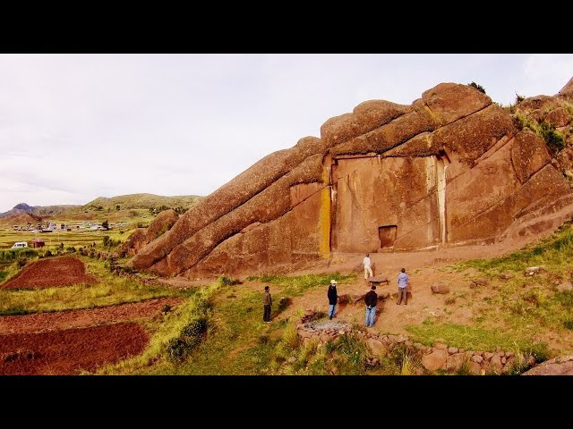 "Quadcopter Flying Over The Ancient ""Devil's Doorway"" In Peru  Sddefault"
