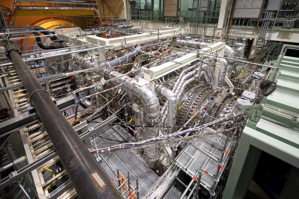 9HA gas turbine in validation test stand