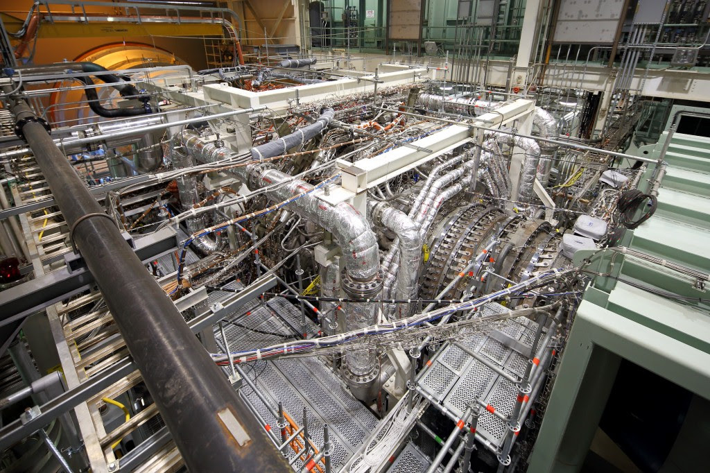 9HA gas turbine in validation test stand