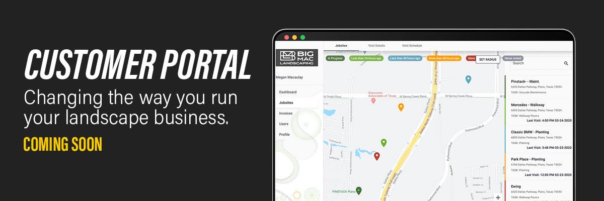 Customer Portal Coming Soon
