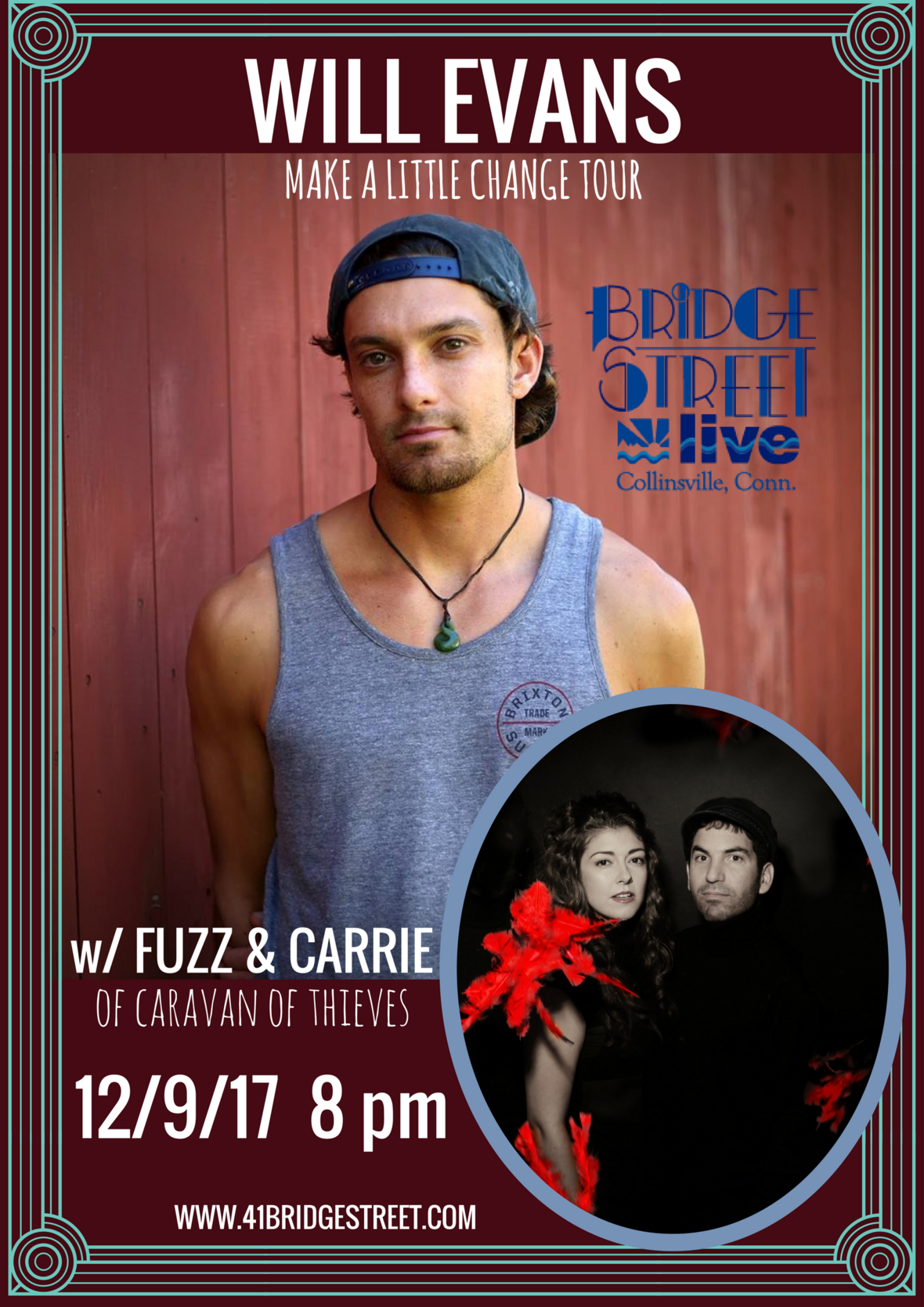 Will Evans Fuzz Carrie 2017 poster