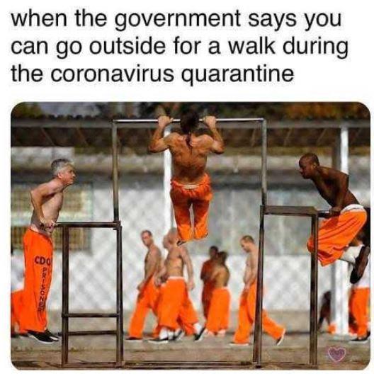 exercise coronavirus