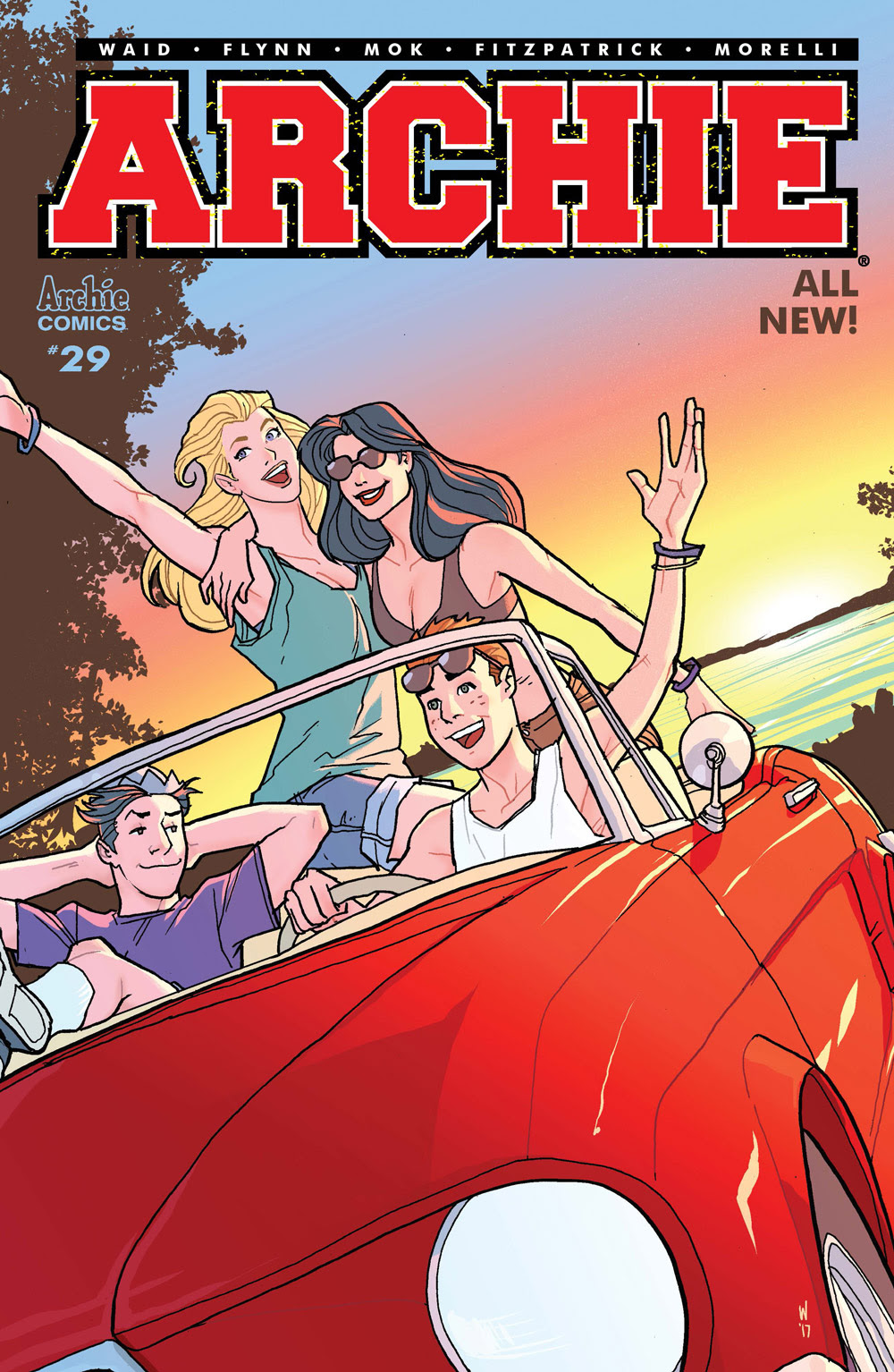 Archie #29 CVR C: Woods Car