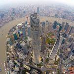 Le quartier d'affaires Lujiazui à Shanghai le 9 décembre 2015. (Crédits : Stringer / Imaginechina / via AFP)