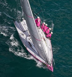 J/88 sailing off Key West during Race Week